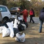 Част от събраните отпадъци