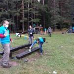 Доброволци от Хюлет-Пакард България реновираха парковата инфраструктура на