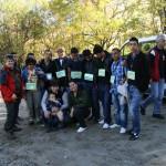 Част от доброволците с представители на ДПП Витоша