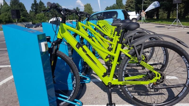 edf9a68df12 ... кметът на Столична община г-жа Йорданка Фандъкова ще даде официален  старт на първата система за споделено ползване на електрически велосипеди в  София. ...